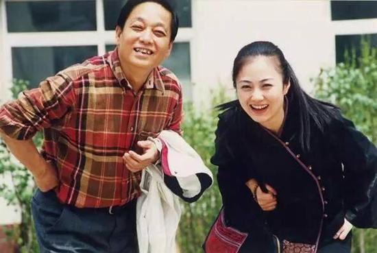 韩美林与夫人周建萍