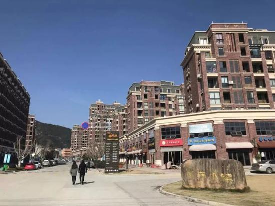 ▲置信·雁荡小镇实景图。图片由业主提供。