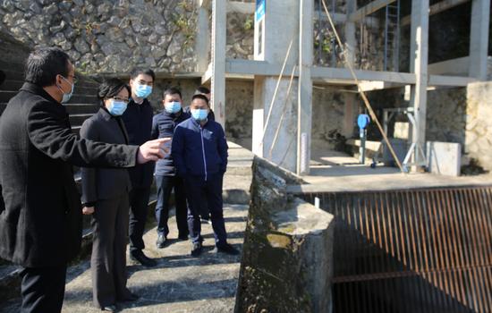 区委书记王彩莲专题调研供水保障工作