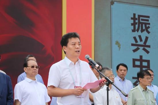 县委书记、县长王志强致辞