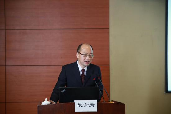 浙江金融职业学院银领学院党总支书记、副院长王祝华