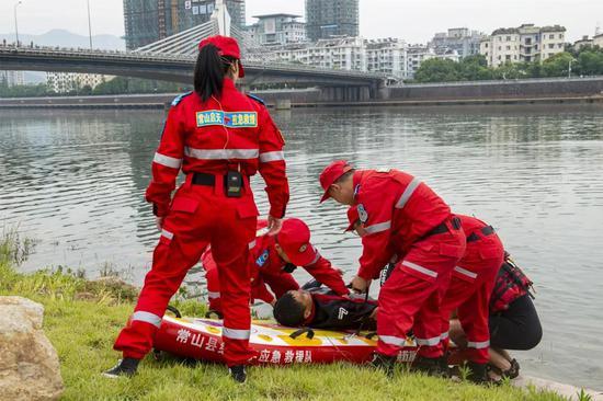 衢州市防灾减灾应急演练暨防溺水安全教育现场会召开