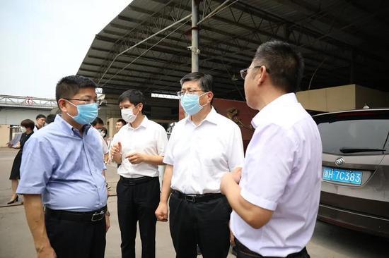 副省长来衢江调研生物安全风险防控等工作