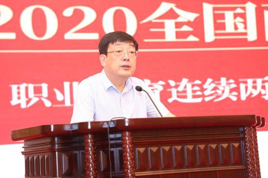 教育部职业教育与成人教育司副司长谢俐