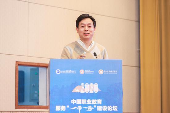 """中国人民大学欧盟""""让·莫内讲席""""教授王义桅发表主旨演讲"""