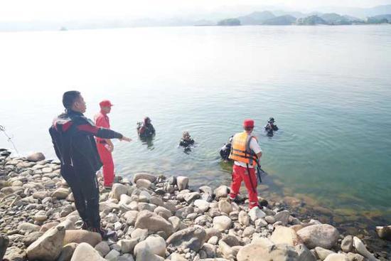 杭女游客不慎落水3人施救2人溺亡