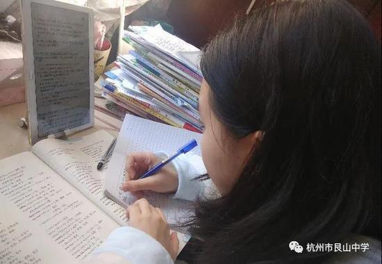 浙江传媒学院实验中学:疫情不能阻挡的,是我们学习的脚步