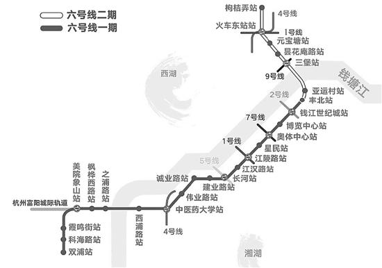 一期、二期共25个站点,列车时速100公里,比目前主城区运营的地铁线路都快