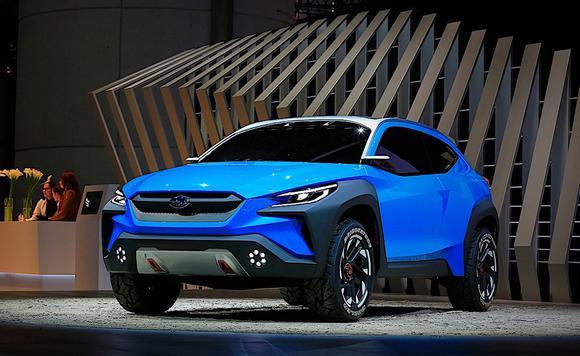 斯巴鲁Viziv Adrenaline概念车 设计别致