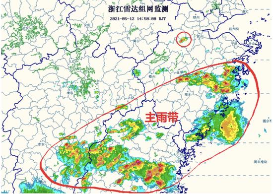 杭州天气多阵雨或雷雨 副热带高压增强暖湿气流活跃