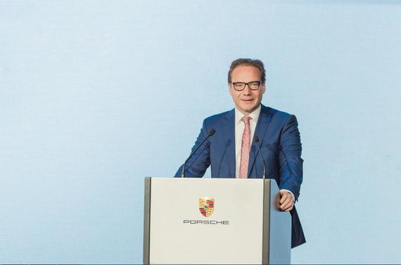 宝爱捷(中国)汽车投资有限公司 CEO Mr. Stefan Van Herpen先生致辞