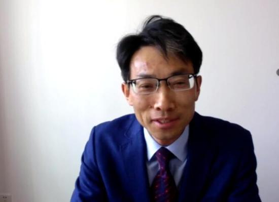 图:浙江财经大学副校长李永友教授直播连线画面