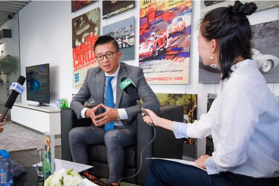 保时捷中国销售副总裁萧达先生(David Xiao)