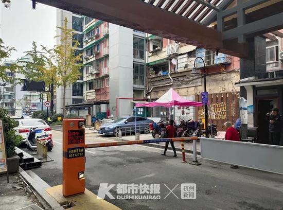 数字赋能停车管理 30多岁的杭州仓基新村停车不再难