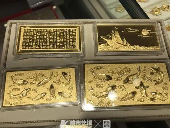 金价大涨破2000美元 杭州黄金门店这一业务异常火热