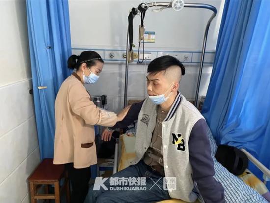 浙江38岁男子因渐冻症住院 51岁护工大姐照顾他3年