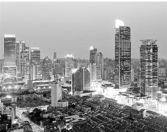 上海恒隆广场夜景