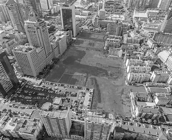 百井坊地块现状 图源于透明售房网