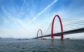 杭州之江大桥引桥出现沉陷