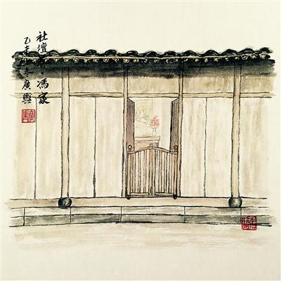 父女手绘杭州人的旧梦新梦 用千千万万小人物编制城市