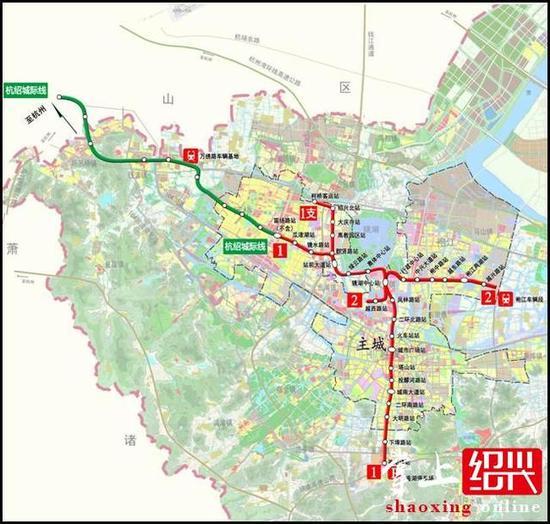 绍兴城市轨道交通一期建设规划获批 为何建地铁?-绍兴城市轨道交通图片