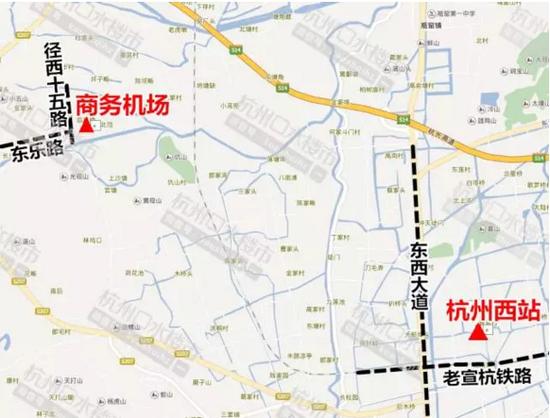 杭州城西机场选址出炉 未来将作为萧山机场的补充
