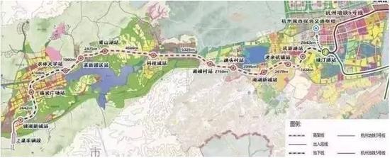 杭州轨道交通将覆盖大都市区 绍兴德清海宁1小时通勤(图)