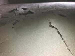 地下室地面出现严重空鼓