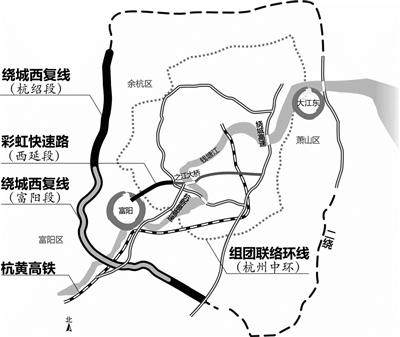 """""""十三五""""期间 富阳重金建交通"""