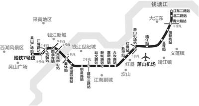 杭州地铁7号线开始招投标