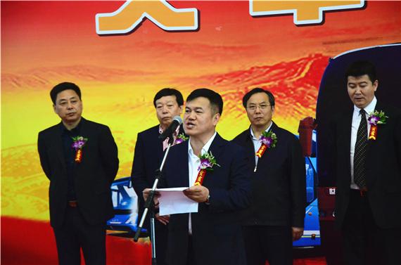 金华青年制造有限公司总裁郑健致辞