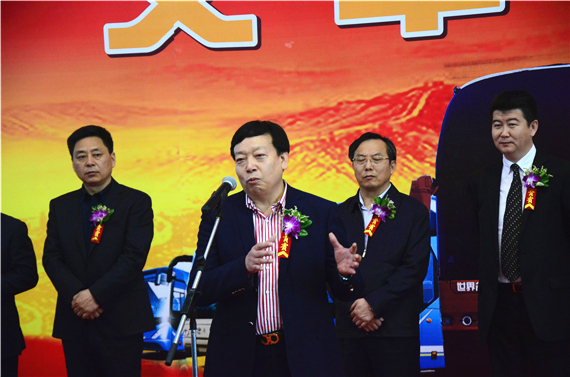 青年汽车集团董事长庞青年讲话