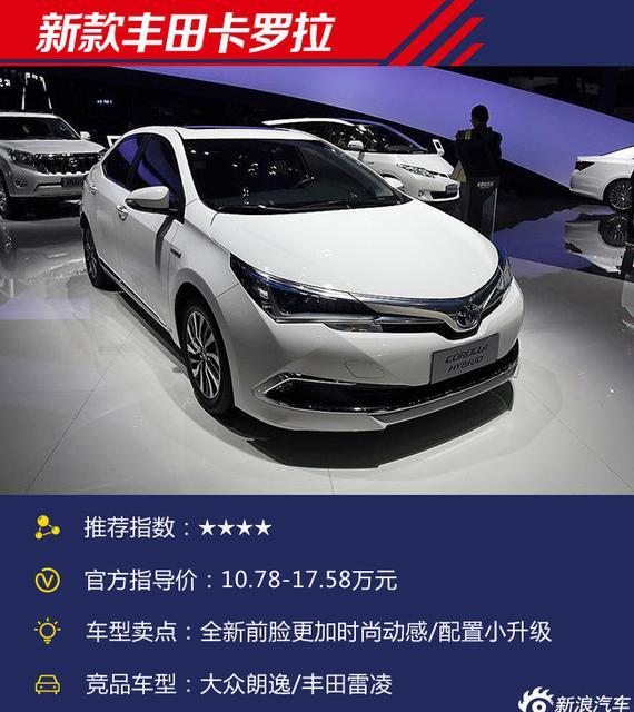 个个都是硬货 2017上海车展上市新车盘点