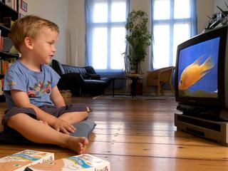 儿童爱看电视小心肥胖症