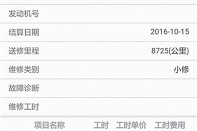 试点汽车维修电子健康档案 杭州为112万辆机动车建档