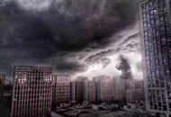 杭州暴雨被网友玩坏