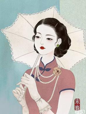 浙江插画师笔下的美人打脸网红