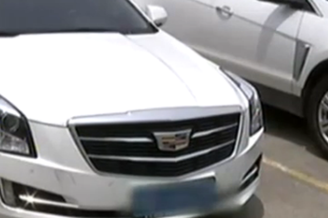 宁波1凯迪拉克倒车后备箱起火
