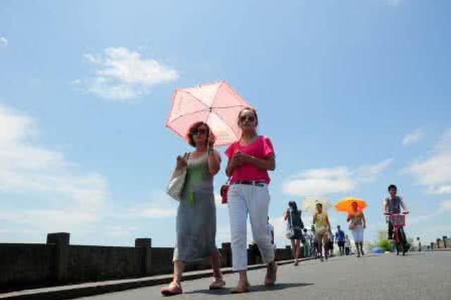 宁波本周将告别高温天 下周一正式出伏