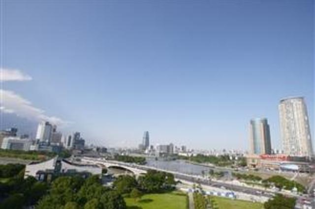 宁波空气质量逐年改善 上半年PM2.5重污染天为0