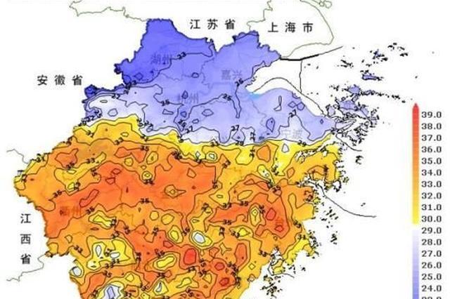浙江北晴南雨迎降温 6日起副高加强气温反扑