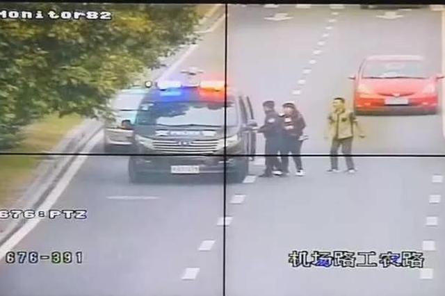杭州18个月大男童眼睛受伤 警车215秒开3公里送医