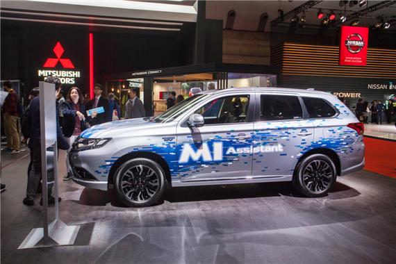 三菱汽车发布新款纯电动概念SUV高清图片