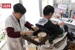 坚持理发74年 杭州86岁理发师想剪到200岁