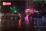 杭城又突降暴雨 多辆车水中抛锚