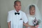 爱情的模样 宁波九旬老人拍摄浪漫婚纱照