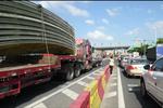 杭州江东大桥总严重堵车 上下班高峰要堵一两个小时