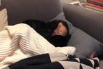 杭州市民宜家避寒 有人裹被子躺床上睡觉
