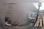 余杭区百丈镇某家电厂房火灾 52名员工全部疏散
