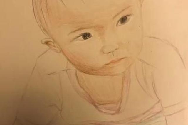 浙女民警画笔寄相思记录女儿成长 月画一张到孩子结婚